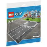 more details on LEGO City Straight and Crossroad Pieces - 7280.