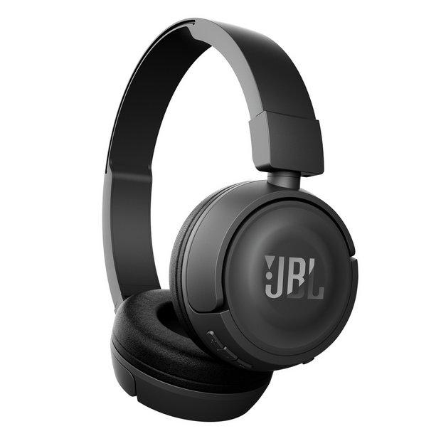 d4dddbbcd75 Buy JBL T450 On-Ear Wireless Headphones - Black | Headphones ...