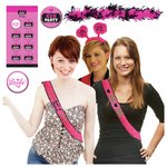 more details on Hen Do Party Pack - Black/Pink.