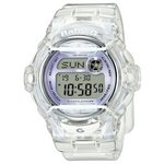 more details on Casio Baby-G Clear Lilac Strap Watch.