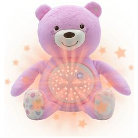 Chicco First Dreams Baby Bear Night Projector - Pink.