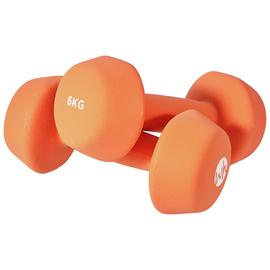 Women's Health Neoprene Dumbbell Set- 2 x 6kg