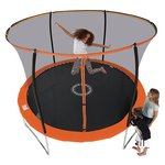 more details on Sportspower 10ft Trampoline With Folding Enclosure.