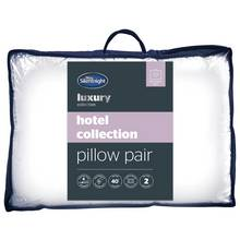 Silentnight Luxury Hotel Collection Pillow - 2 Pack