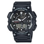 more details on Casio World Time Telememo Black Combi Watch.