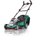 more details on Bosch Rotak 43 Li Ergoflex 36V Cordless Rotary Lawnmower.