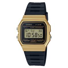 Casio Digital Watch With Black Resin Strap