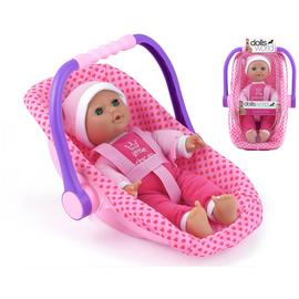 Dollsworld Isabella Doll Rock Car Seat.