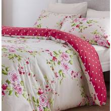 Catherine Lansfield Canterbury Red Bedding Set - Double