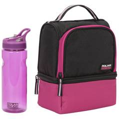 165afe05f6ad Polar Gear Lunch Bag and Bottle - Raspberry