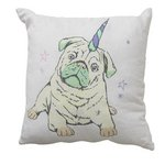 more details on Collection Unicorn Pug/Cat Reversible Cushion.