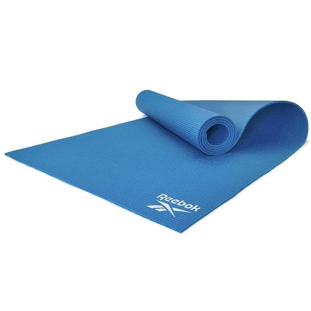 Buy Reebok 4mm Blue Yoga Mat Exercise And Yoga Mats Argos