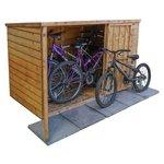 more details on Mercia Wooden Overlap 4 x 6 Bike Store.