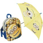 more details on Minions Backpack and Umbrella.