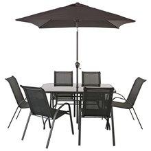 Borneo Garden Furniture Asda buy home rattan effect 2 seater duck egg patio set with cushions
