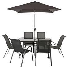home sicily 6 seater patio furniture set