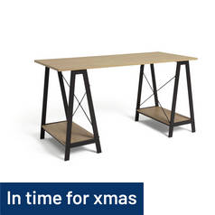 Argos Home Large Trestle Table Desk