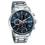 more details on Lorus Men's Blue Dial Chronograph Watch.