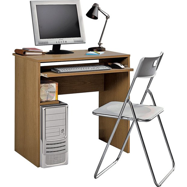 Buy home office desk and chair set oak effect at your online shop for desks and Buy home furniture online uk
