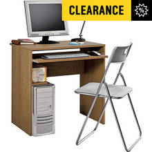 Argos Home Office Desk and Chair Set - Oak Effect
