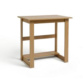 Argos Home Office Desk - Beech Effect