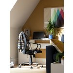 more details on Mesh Gas Lift Mid Back Adjustable Office Chair - Black.