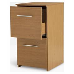 Argos Home 2 Drawer Filing Cabinet - Oak Effect