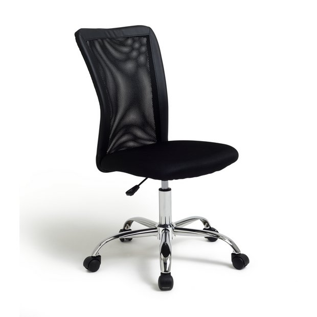 Buy Home Reade Mesh Gas Lift Adjustable Office Chair Black At Your Online Shop