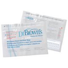 Dr Browns Microwave Steam Steriliser Bags