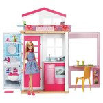 more details on Barbie 2-Storey House & Doll.