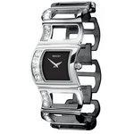 more details on Seksy Ladies' Swarovski 4064 Black Dial Watch.