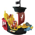 more details on Fisher-Price JNP Hooks Jolly Roger Pirate Ship.