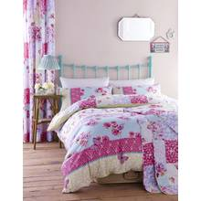 Catherine Lansfield Gypsy Patchwork Duvet Cover Set - Double