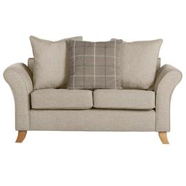 Argos Home Kayla 2 Seater Scatter Back Fabric Sofa - Beige