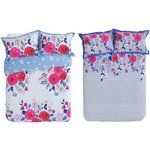 more details on Collection Phoebe Floral Twin Pack Bedding Set - Double.