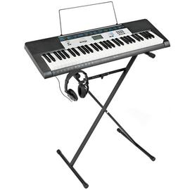Casio Keyboard, Stand & Headphones Bundle with Free Lessons