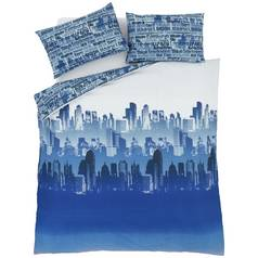 Catherine Lansfield City Scape Bedding Set - Kingsize
