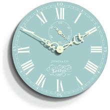 Jones Darwin 30cm Wall Clock - Blue