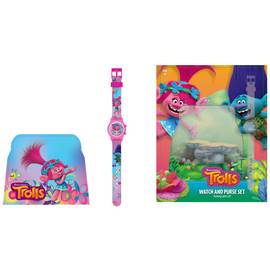 Trolls Watch and Purse Set