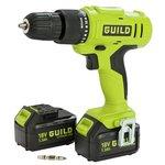 Guild 2 Battery 1.3AH Cordless Hammer Drill – 18v.