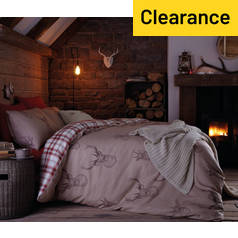 Catherine Lansfield Stag Bedding Set - Single