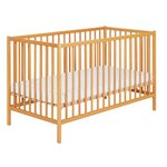 more details on Babystart Cot - Oak.