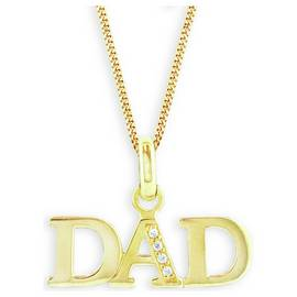 97a6f51d4cf79 9ct gold plated sterling silver Dad jewellery   Argos