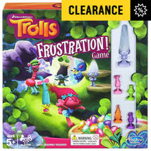 Trolls Frustration Game From Hasbro Gaming