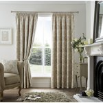 Curtina Ashford Lined Curtains - 229x229cm - Natural
