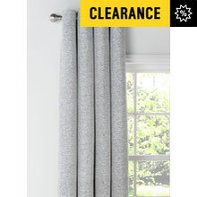 Heart of House Huxton Textured Curtains - 168x183cm - Grey