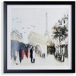 more details on Collection Framed Parisian Cafe Scene Canvas.
