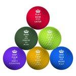 more details on Longridge Pack of 6 Keep Calm Golf Balls.