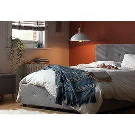 Argos Home Eros Ottoman Double Bed Frame - Grey