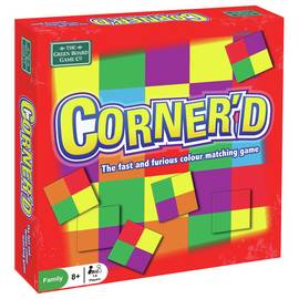 Green Board Games Cornered Game